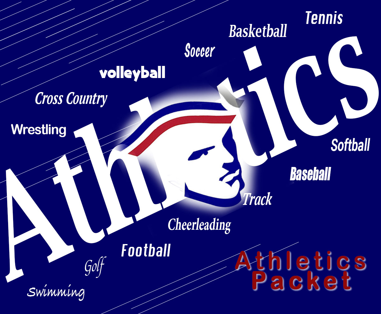 Athletics Button